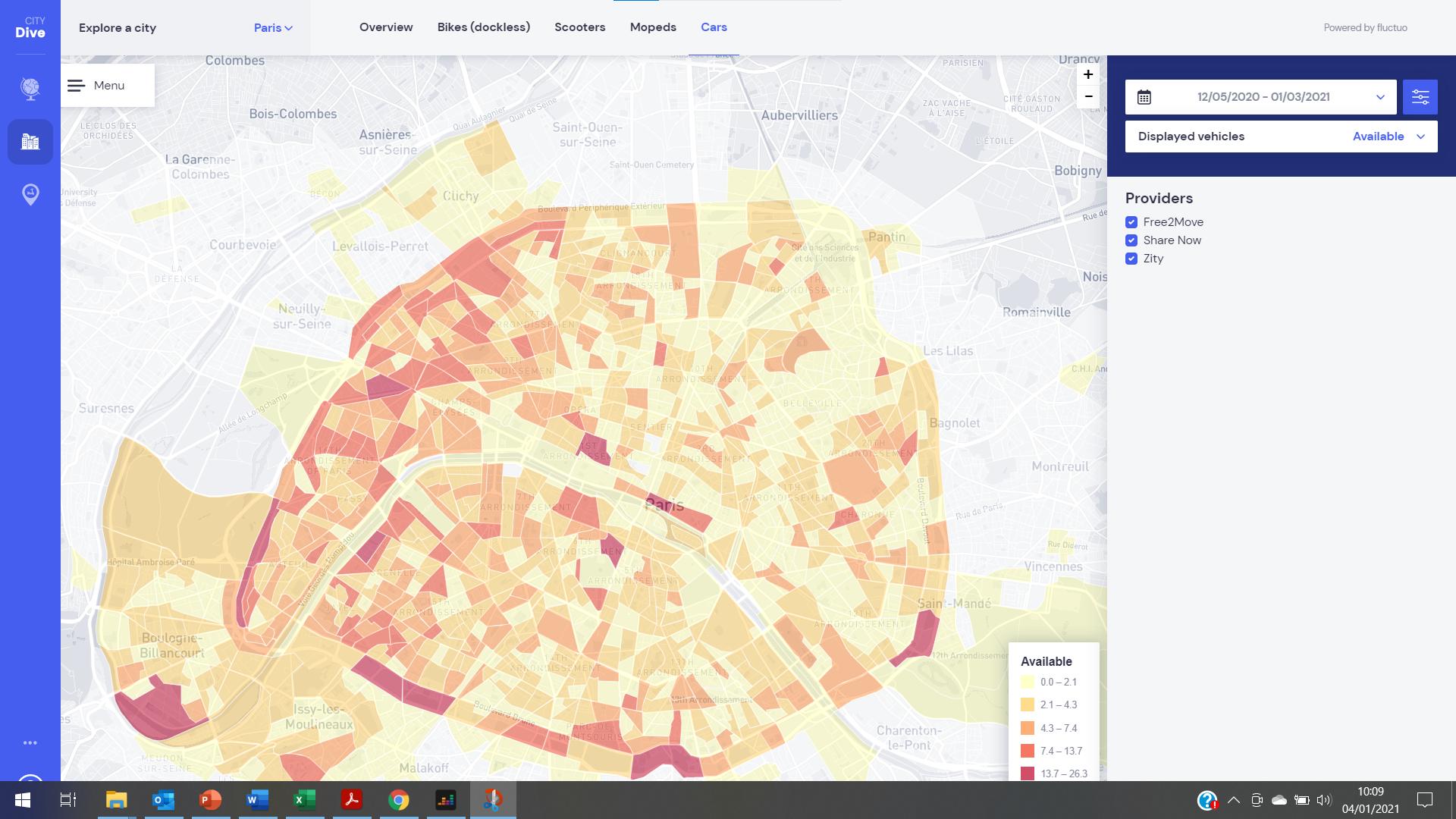 App screenshot for City Dive 3