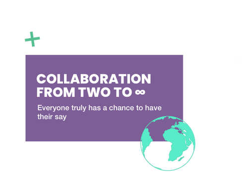 Collaboration fro two to infinity
