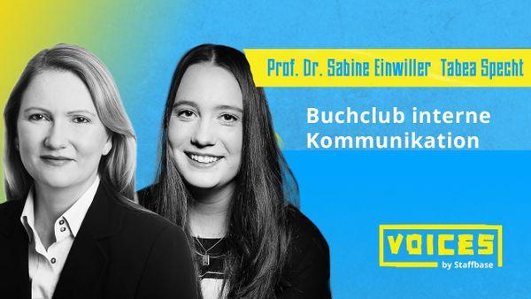 Prof. Sabine Einwiller & Tabea Specht: Buchclub IK zur Vorstellung aktueller Fachbücher