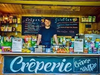 Mobiler Crepesstand, Foodtruck in Köln mieten und leckere Crêpes genießen