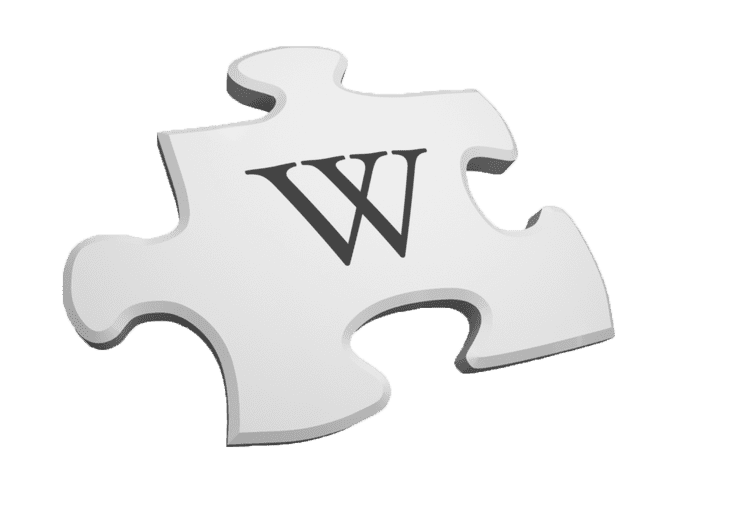 Wikipedia: a piece of puzzle
