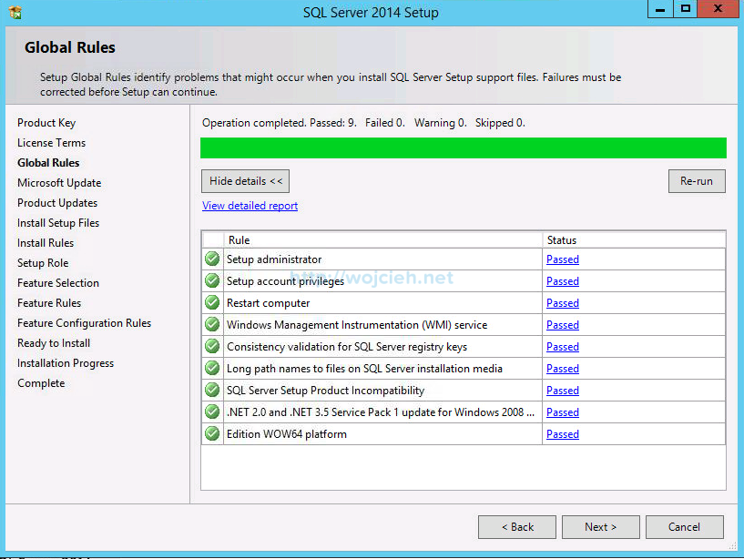 VMware vCenter Server 6 on Windows Server 2012 R2 with Microsoft SQL Server 2014 - 4