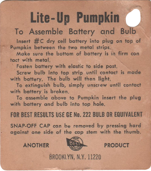 Best Toy and Novelty Lite-Up Pumpkin Tag preview
