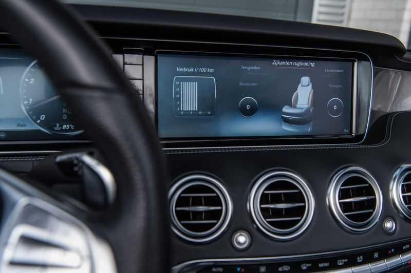 Mercedes-Benz S-Klasse Cabrio 500 , 456 PK, AMG/In/Exterieur, Swarovski, Head/Up, Airscarf, 29DKM, NIEUW!! afbeelding 18