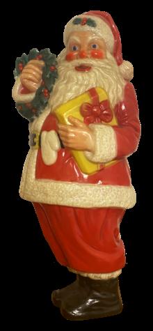Illuminated Santa photo