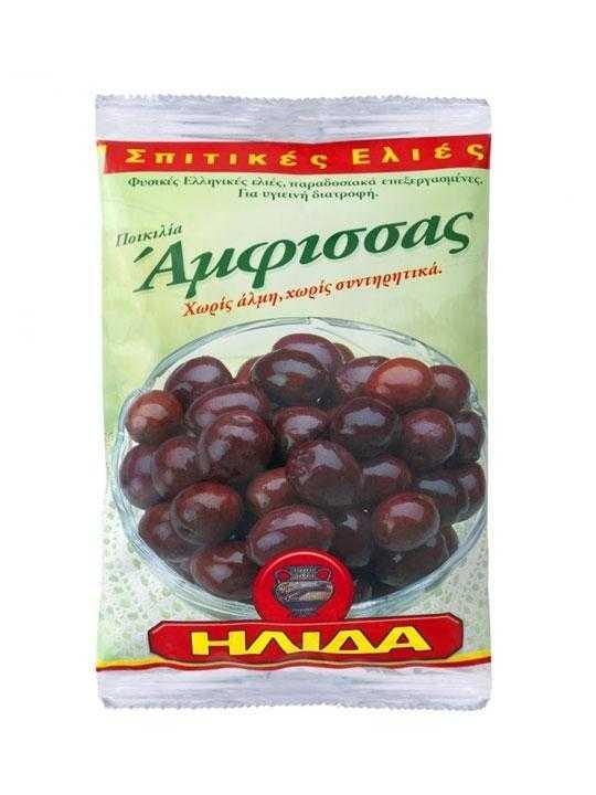 Amfissa black olives - 250g