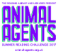 The Summer Reading Challenge Animal Agents logo