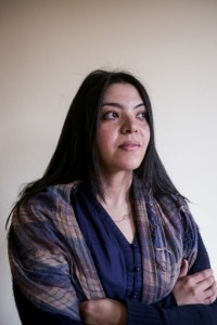 Dina Hussein, an editor at Mada Masr. Photograph: David Degner