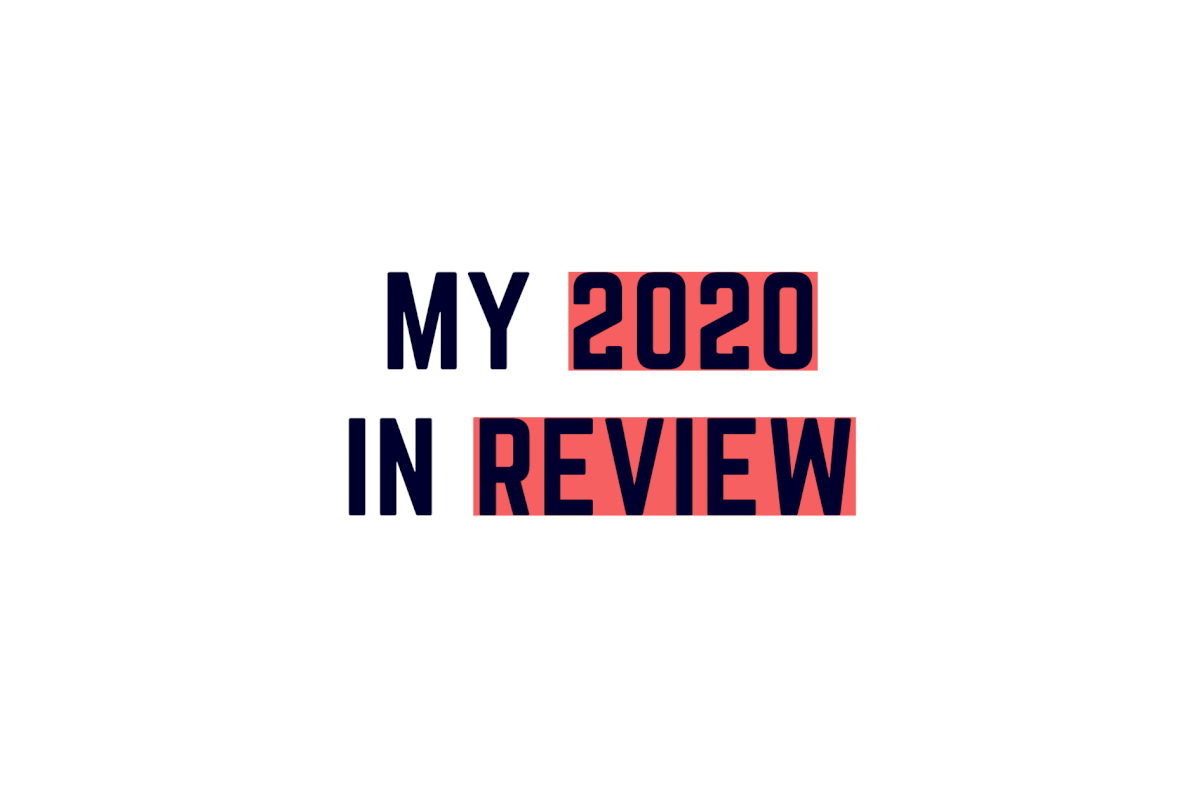 My 2020 in review