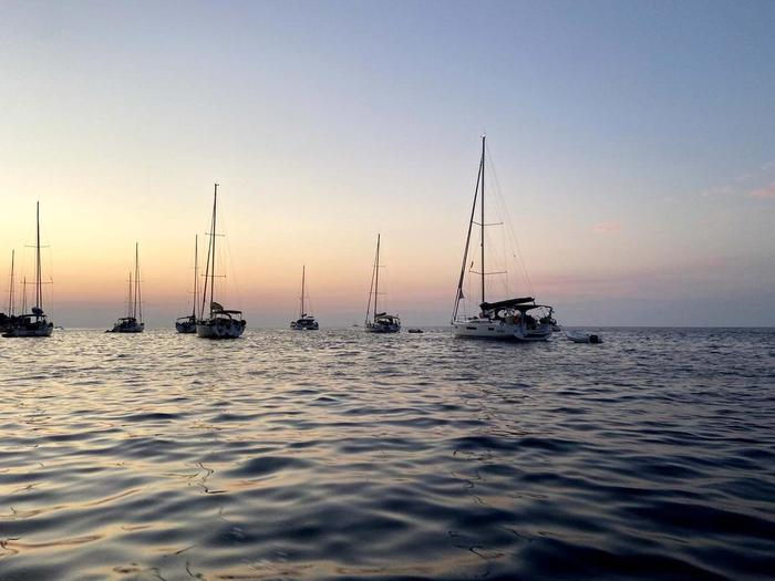 Mediterranean Sea Islands and Volcanos