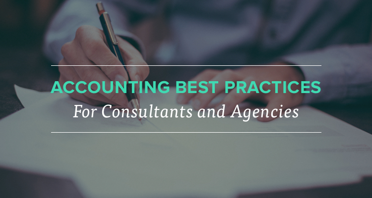 Accounting Best Practices for Consultants