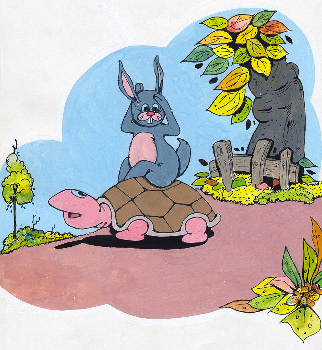 Bunty Rabbit Runs a Race Again
