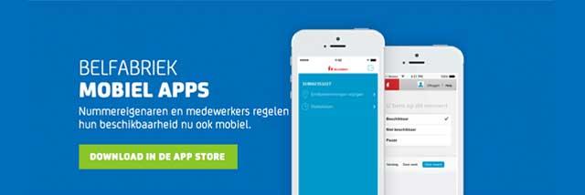 Een nieuw ontwerp en uitgebreidere functionaliteit voor onze iOS app. Nu beschikbaar in de App Store!