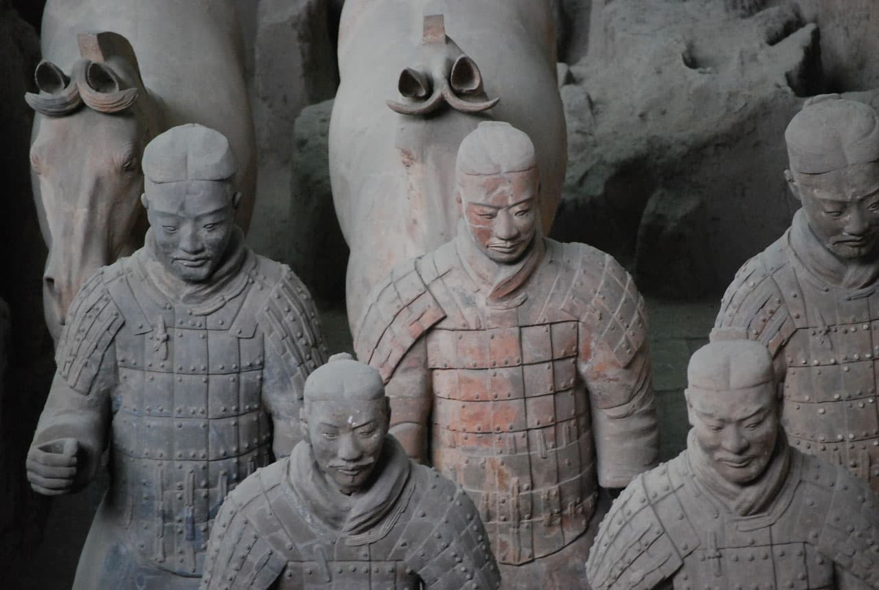 Terracotta warriors, Xi'an city
