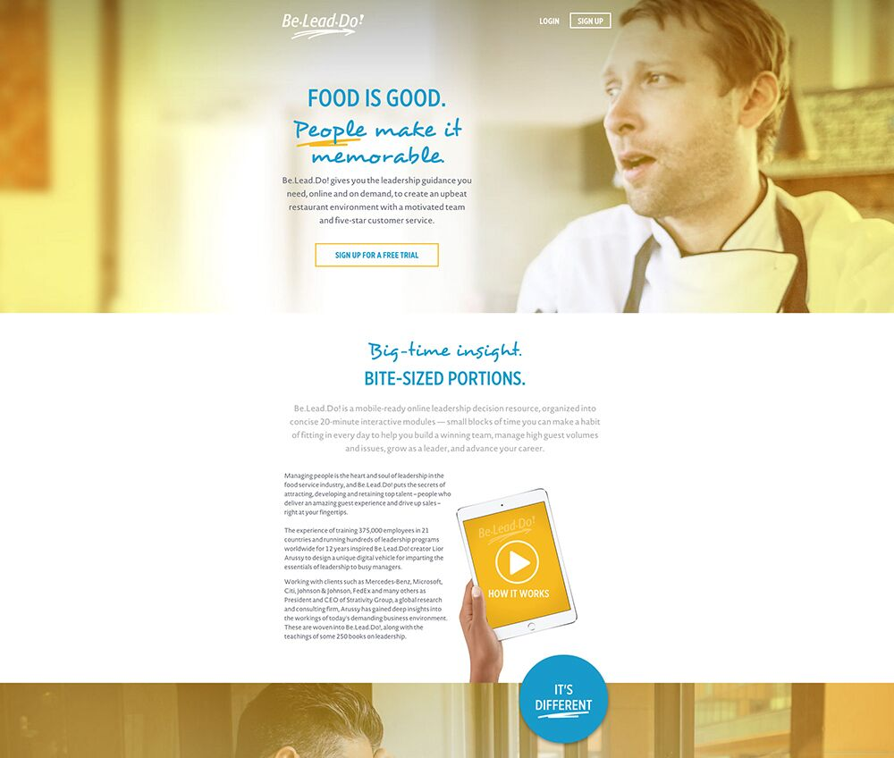Land the perfect landing page