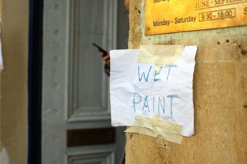Wet Paint 0683