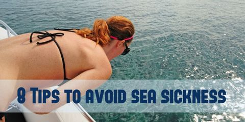Sea sickness is unpleasant but help is at hand with these tips and preventative measures to keep sea sickness to a minimum.