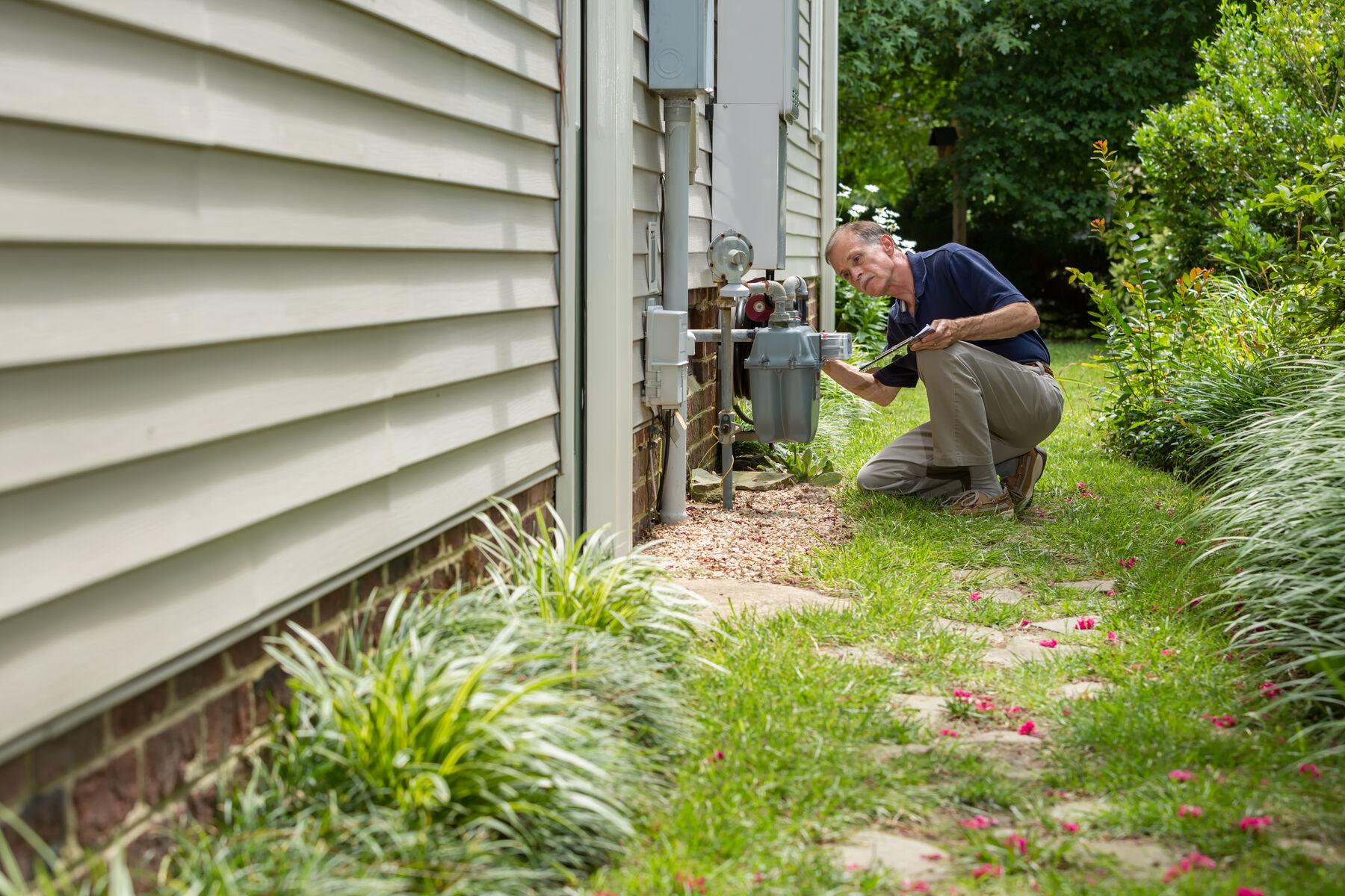 HVAC Gas Line Image 2