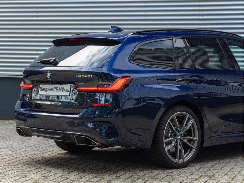 BMW 3 Serie Touring M340i xDrive Individual - Head-up - ACC - Harman Kardon - Panorama afbeelding 9