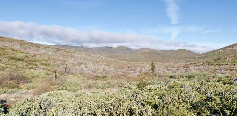 Basin near Laguna Mountains