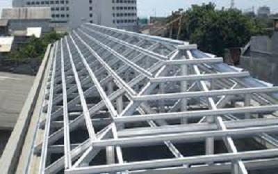 Konstruksi Bangunan Baja Ringan dengan Rangka Kuat
