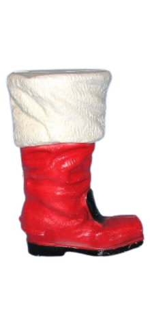 Illuminated Santa's Boot photo