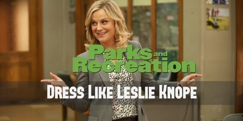 Leslie Knope costume is something that you might be able to find in your closet, and whatever you don't have you can easily find online