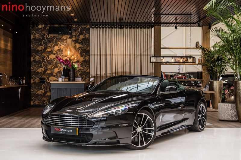 Aston Martin DBS Volante 6.0 V12 Black Carbon Edition afbeelding 1