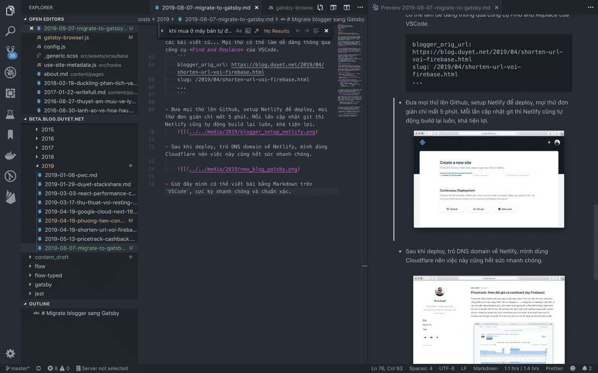 new editor vscode