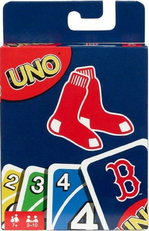 Boston Red Sox Uno (2017)