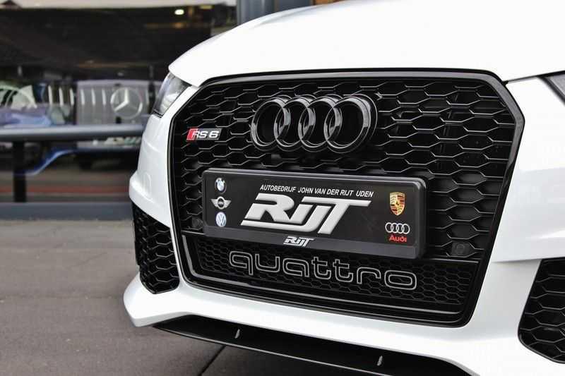 Audi RS6 4.0 V8 605pk Performance Quattro **Pan.dak/HUD/ACC/Camera/Carbon** afbeelding 7