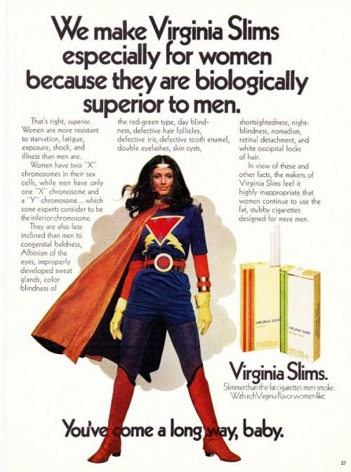 Virginia slims wonder woman
