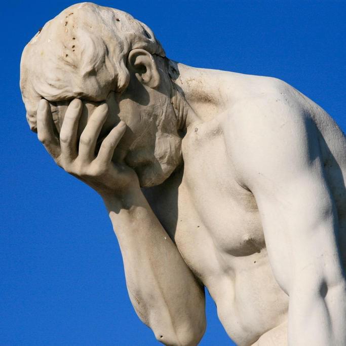 Статуя Каина всаду Тюильри (Париж). Скульптор Анри Видаль, 1896