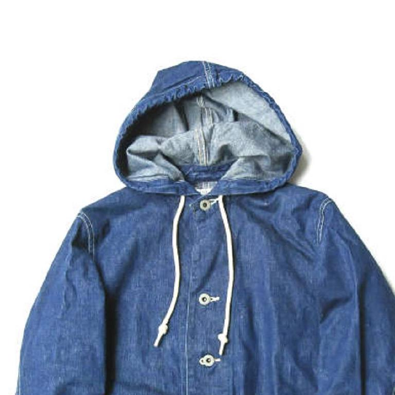Hooded coverall jacket