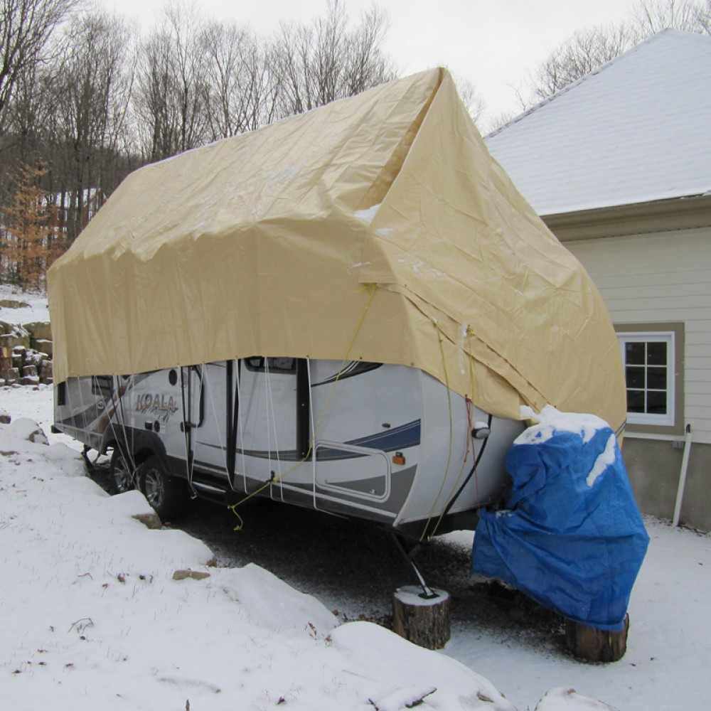 Navigloo Winter Cover for 18-24 foot trailers