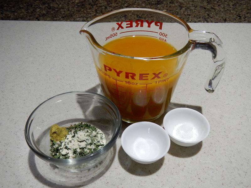 Additional Masa Ingredients
