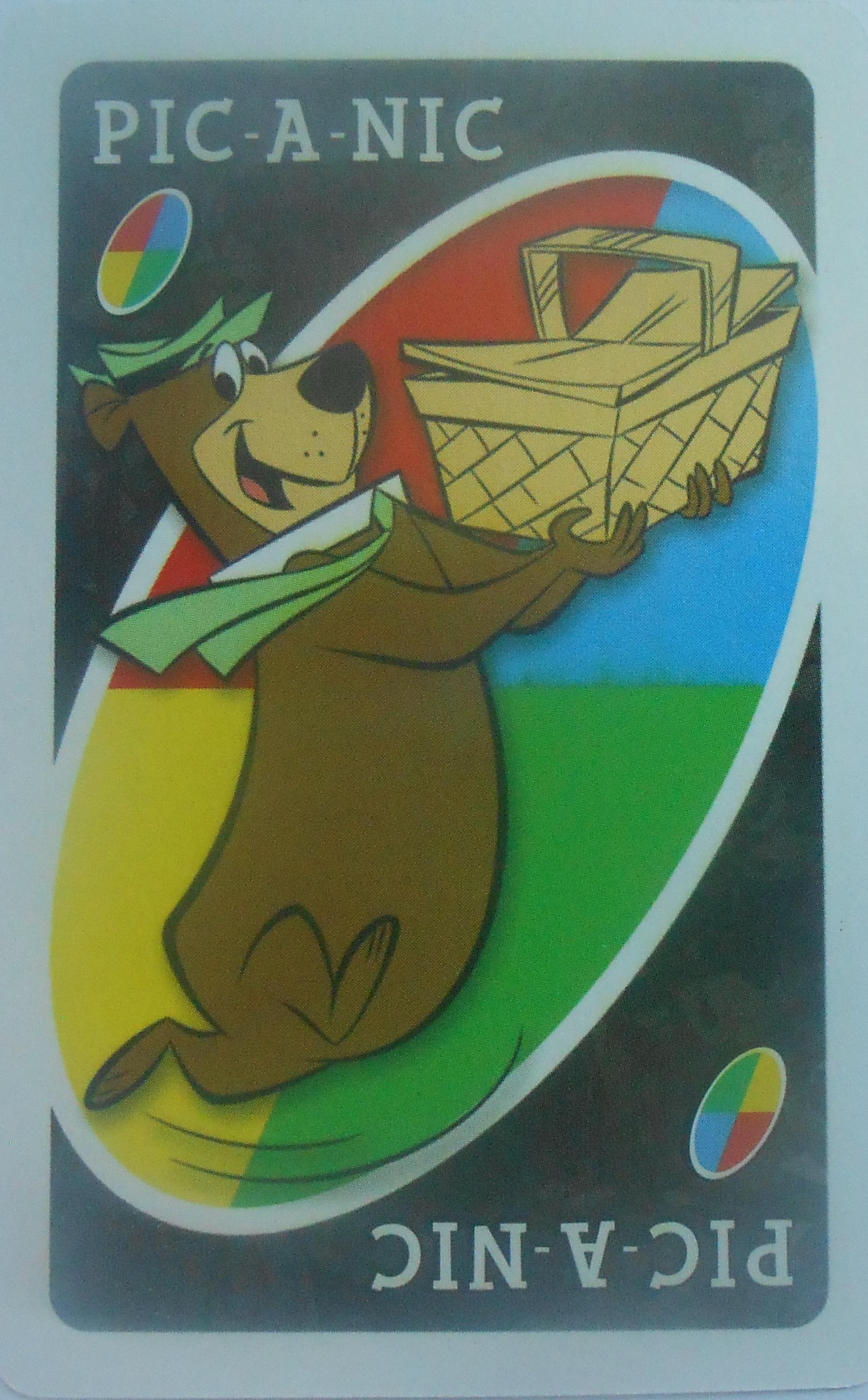 Hanna Barbera Uno (PIC-A-NIC Card)