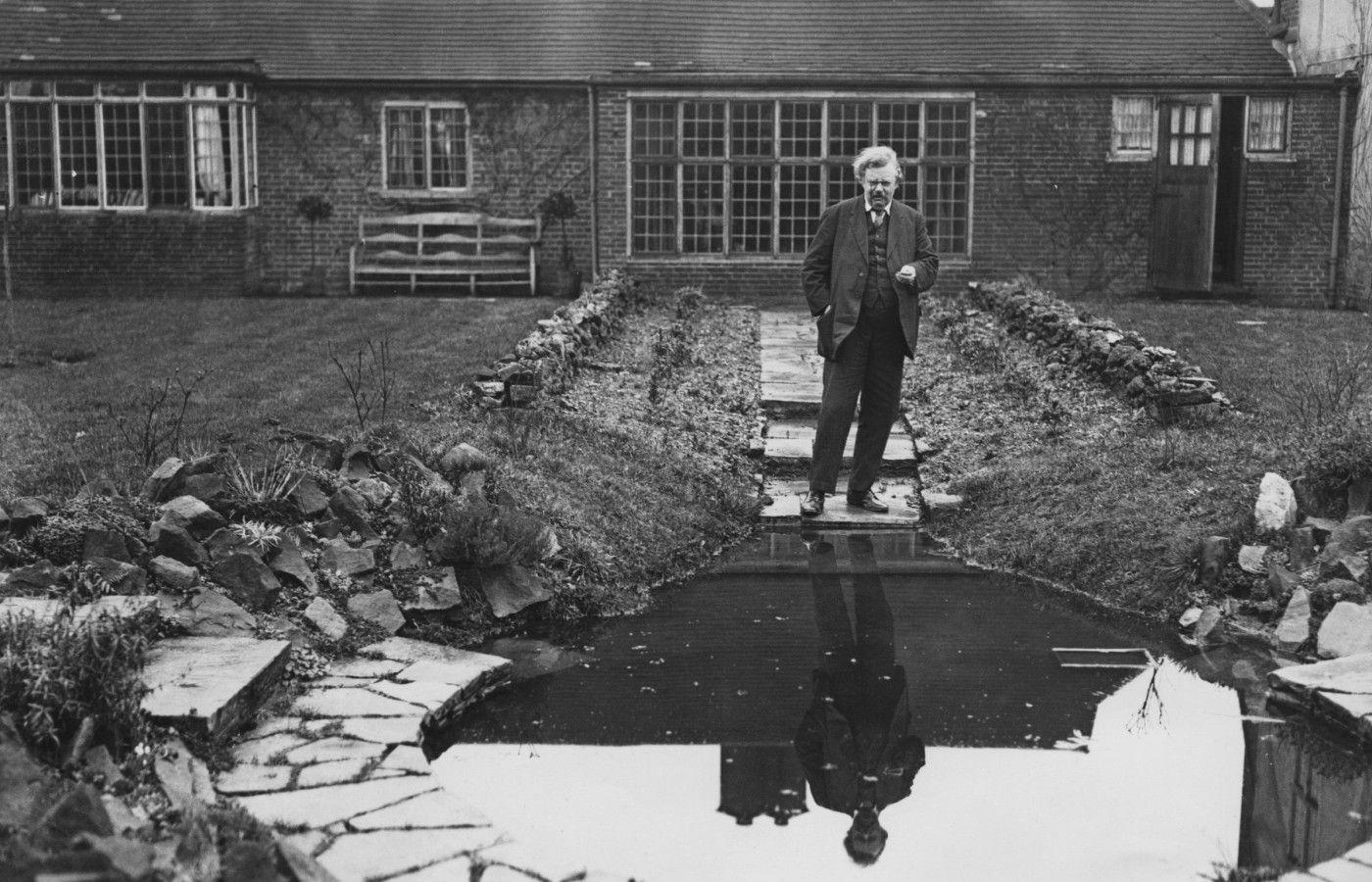 Гилберт Кит Честертон весил 130 килограммов при росте почти в 2 метра. Источник: chesterton.org