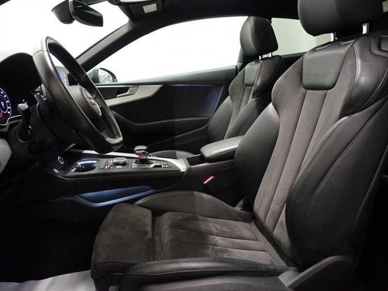 Audi A5 Coupé 2.0 TFSI MHEV Quattro S5 Uitv! [S-Line] Aut- Panodak, Virtual Cockpit, Camera, Leer afbeelding 24