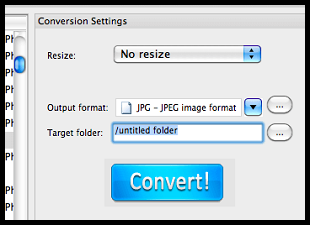 Select JPG as output