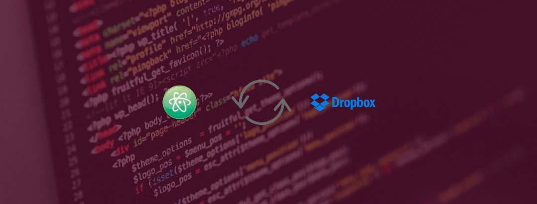 Sync Atom with Dropbox