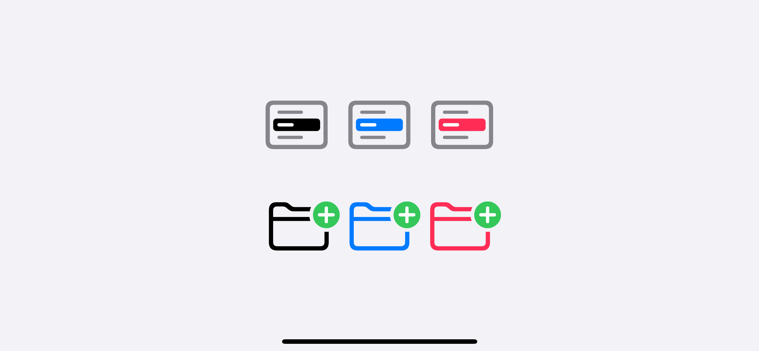 We can override some part of multicolor symbols.
