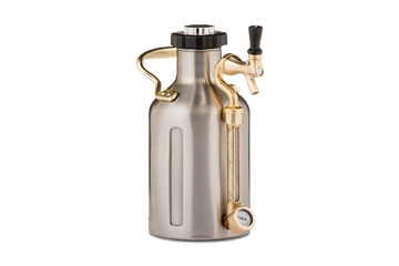 GrowlerWerks Stainless Steel uKeg 64oz Growler