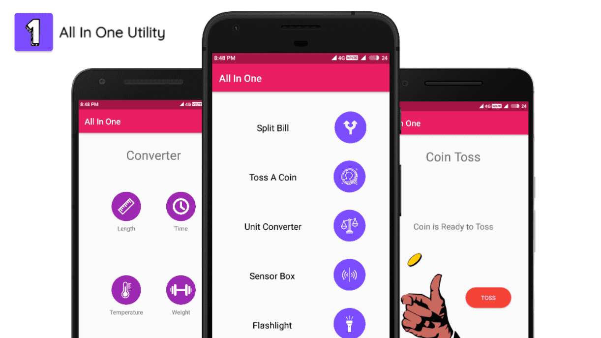 All In One:Utility App