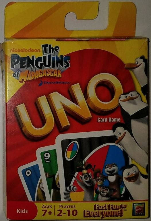 Penguins of Madagascar Uno