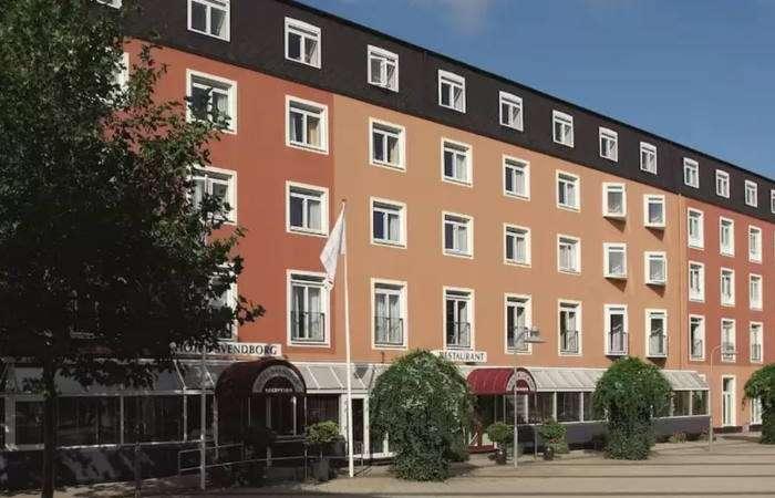 hotel svendborg facade