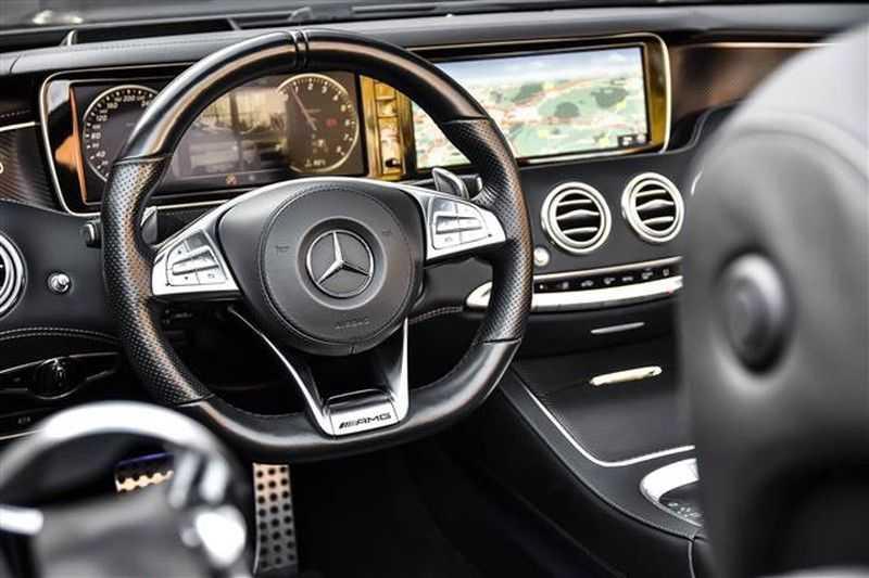 Mercedes-Benz S-Klasse S500 CABRIO AMG-LINE+BURMESTER+HEAD-UP NP.201K afbeelding 6