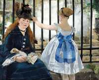 'Railway' by Edouard Manet, 1873 currently at the National Gallery of Art, Washington, DC, US