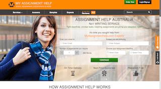myassignmenthelp.com main page