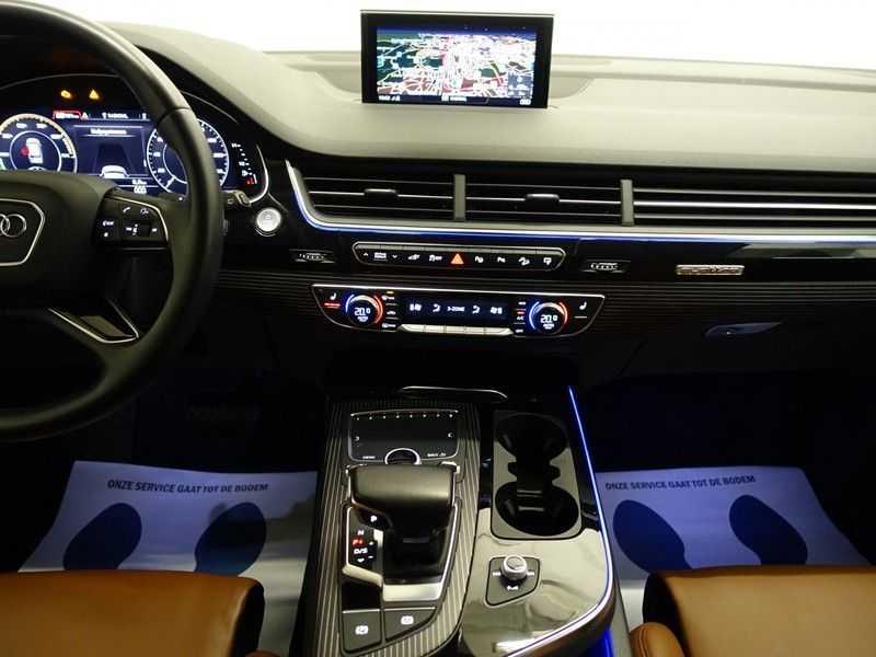 Audi Q7 3.0 TDI e-tron 374pk Quattro S-Line Autom- Bose, Virtual Cockpit, 360 Camera, Park Assist, Leer afbeelding 7